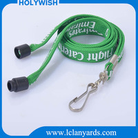 Polyester cheap custom cell phone strap tube lanyards for sale