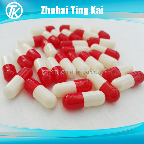 China suppier customized printed gelatin empty capsule