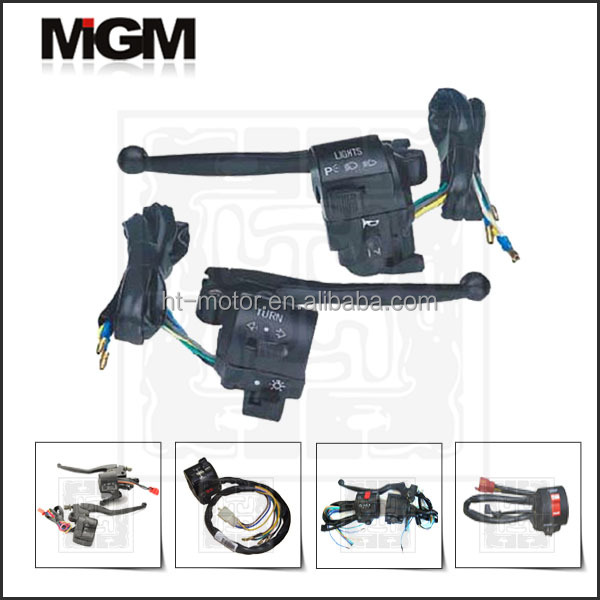 OEM High Quality motorcycle handle bar switch/motorcycle clutch lever and switch