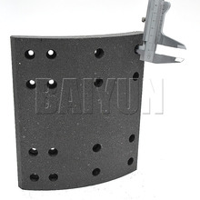 Heavy Duty Truck Brake Shoes Brake Lining 19939 VL88/1