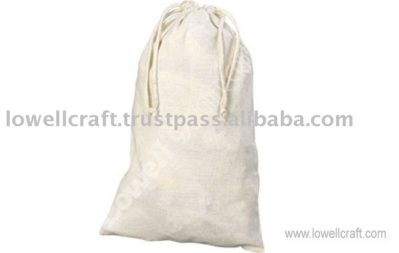 COTTON DRAWSTRING BAG/PACKAGING BAG