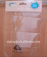 OPP Tear Tape Bags with butterfly hole for Cable