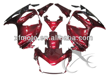For Honda ST1300 ST 1300 Red Full Set ABS Plastic Fairing Body Work