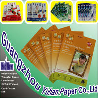 Preferred Quality Supplier 250g A4 Double Side High Glossy Inkjet Photo Paper(cast coated)