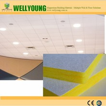 fire rated Class A acoustic moistureproof glasswool ceiling