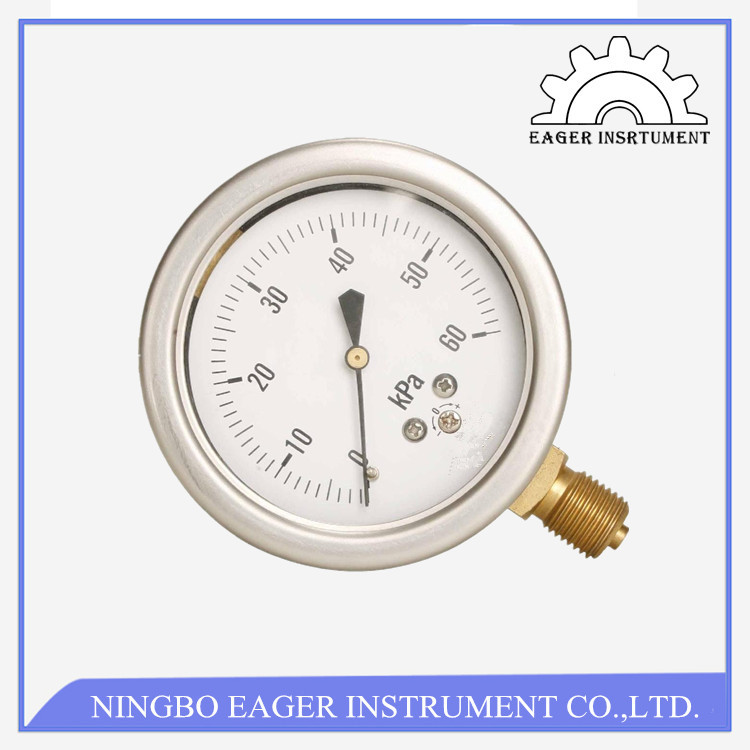 capsule pressure gauge normal diaphragm used for pressure measuring pressure gauge