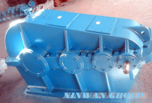 China helical gear reducer gearbox drive for electric winch rope drum