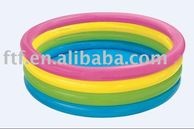 Safety inflatable baby pool, inflatable baby swimming pool