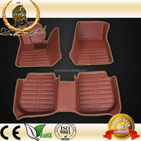 2015 New Design 3d car carpet 3d car mat suit for standard car