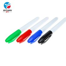 Multi colorful dry erase fine point assorted refill ink pen whiteboard fiber-bullet tip marker