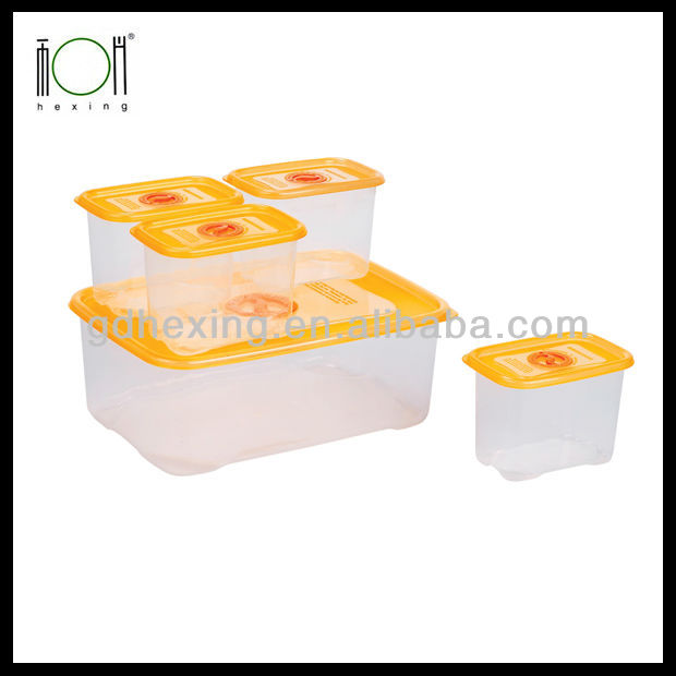 Plastic Food Transparent Crisper Small Box Wholesale Price