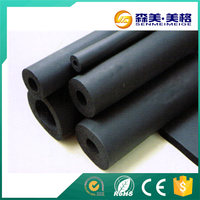 China supplier 3 inch waterproof tubular rubber pipe insulation