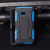 2015 New Arrival IN STOCK!Future Tank Armor Holster Case Stand Phone Cover Belt Clipe For Nokia Lumia 929 Cell Phone Case