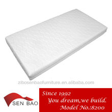 Rolled queen foam mattress 8200# with elegant mattress cover of china by top mattress manufacturer