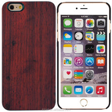 high quality Dirt-resistant wooden pc phone case for iphone 6 5 s