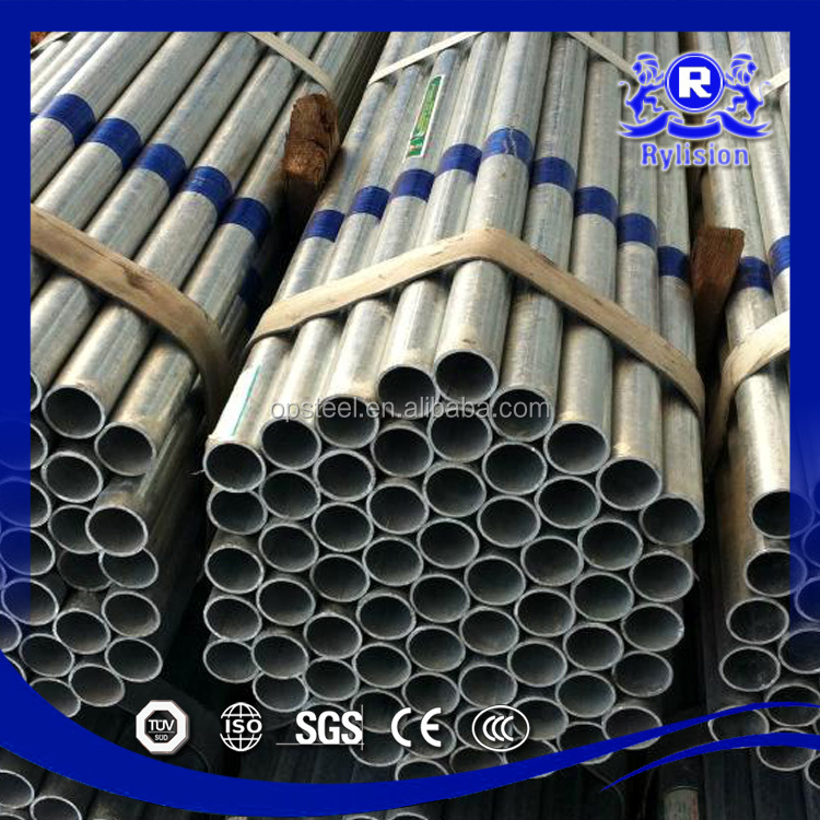 X45CrSi8 Ecuador Galvanized Steel Tube / Pipe Hot Dipped Galvanzied Steel Pipe Pre-Hot Dip Galvanized Steel Pipe Price / Tube