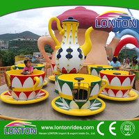 Park amusement rides family with children game equipment tea cup rides/coffee cup equipment