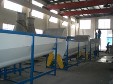 500kg/h PET/PP bottle recycling line only 1% water content