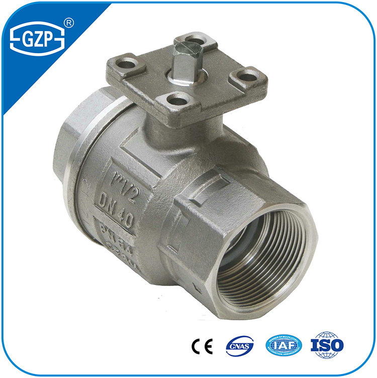 API ANSI ASME BS ASTM BSP NPT Male Female High Plated Mounted Pneumatic Motorized Lever Manual Operate Threaded Screw Ball Valve