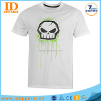 wholesale softextile t shirt print , man white tshirt 3d