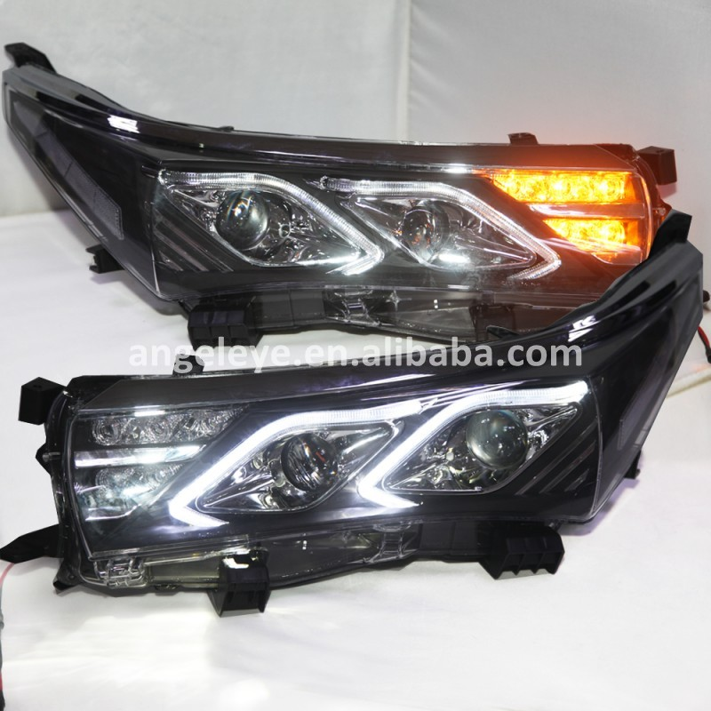 LED Head Light For TOYOTA Corolla LED strip front light head lamp for corolla 2014 to 2015 Year YZ