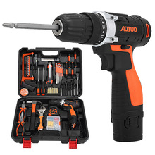 12V Cordless Power Screwdriver Sets Multi Function Charging Electric Hand Drill Home Electric Screw Driver PG-1322