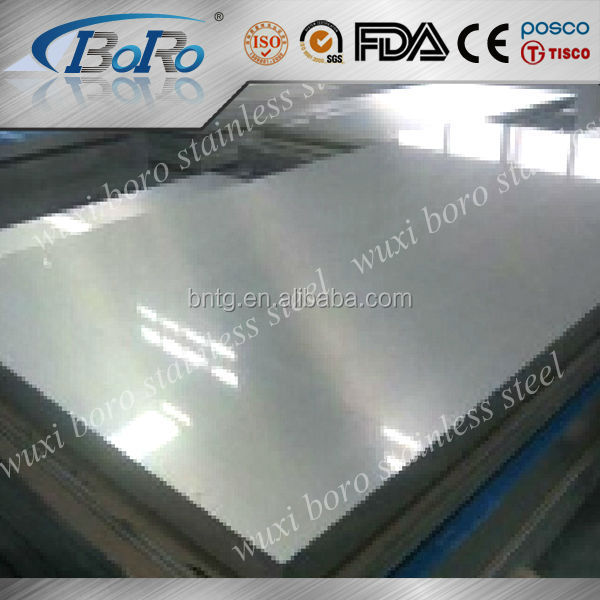 Manufacture inox 316L steel sheet/stainless steel raw material