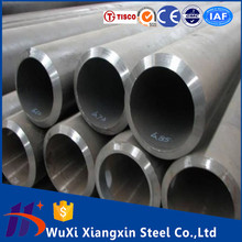 Sanded 304 welded stainless steel tube 6mm 1.4301