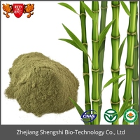 ISO,GMP,HACCP certified bamboo leaf extract powder contains high silica