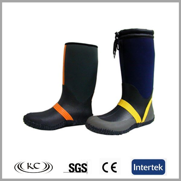Hot selling water fishing shoes neoprene hip boots for men