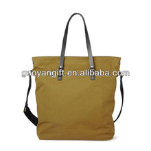 Newly Canvas and Leather Tote Bags for Men