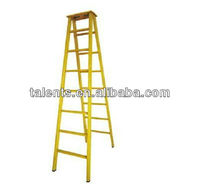 FRP double sided trestle ladders