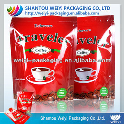 wholesale tea bag holder stand up plastic foil tea bag used tea bag packing machine