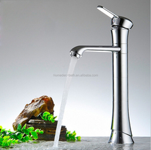 Modern Design Tall Single Lever Chrome Plated Kitchen/Bathroom Sink Basin Mixer Tap