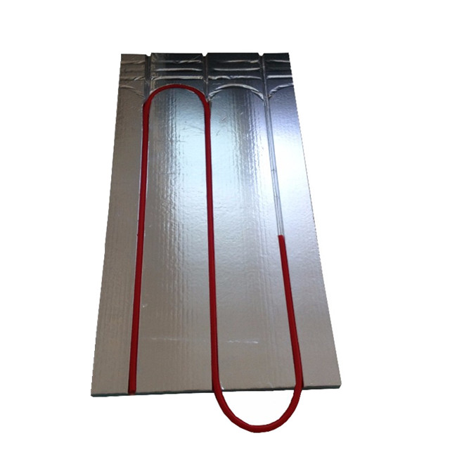 CE Approved Waterproof XPS Thermal Insulation Board Use 16mm Pex Pipe for Underfloor Hydronic <strong>Heating</strong>