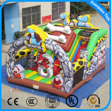 Guangqian Wholesale Factory Price PVC Material Inflatable Slide Combo Bounce