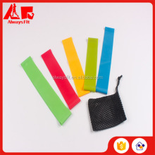 High Quality Exercise 5pcs Resistance Band loop With mesh bag