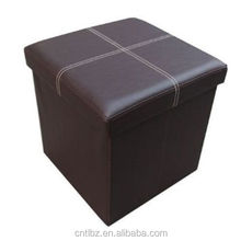 Square Foldable Storage Stool Box