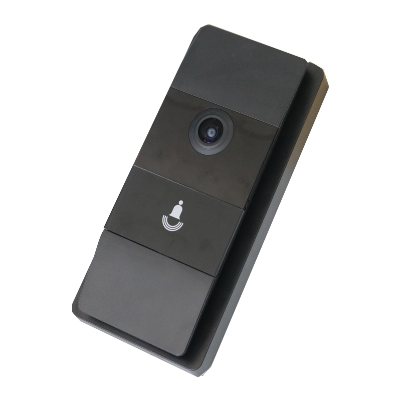 Top quality wired wifi hidden camera smart video door bell