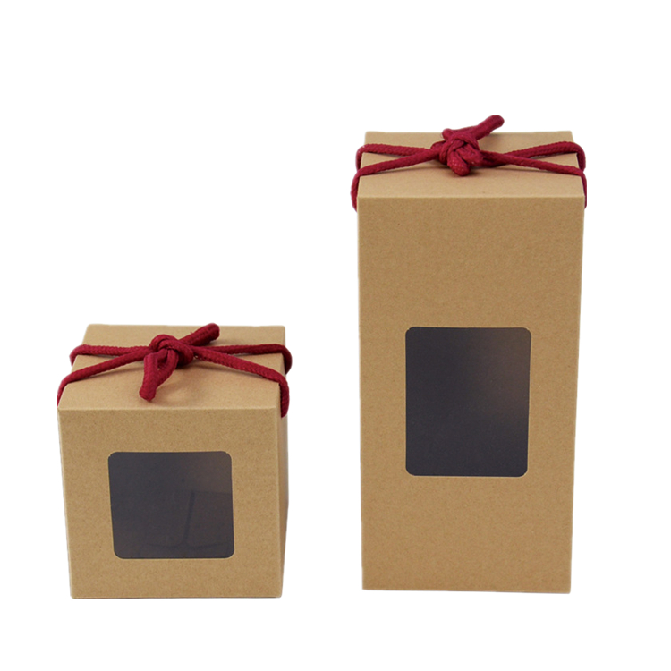 Kitchen cake dessert kraft paper box food packaging boxes