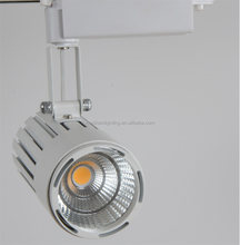 COB 230V Dimmable 30W 40w LED Track Spot Light for Living Room