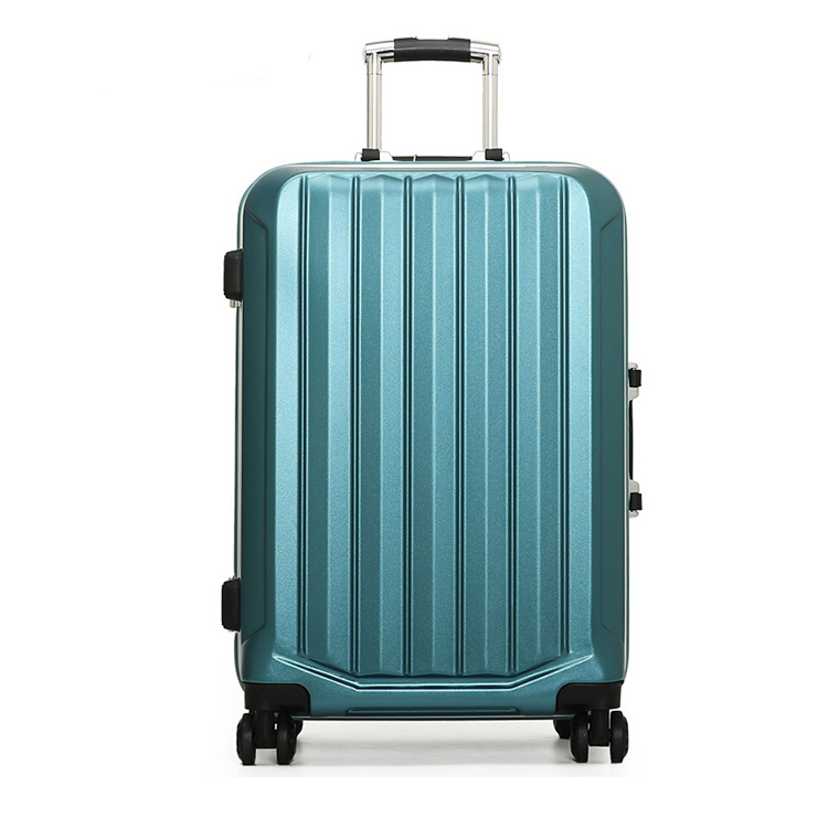 "High quality spinner caster 20""24""28"" luggage hard shell abs boarding trolley suitcase PC China supplier"