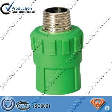 ppr pipe fitting male thread bush