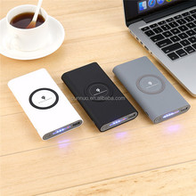 Alibaba francais wholesale products mobile portable Type-c qi wireless power bank charger