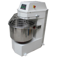 2017 double speed bakery mixer 25kg dough machine spiral kneader