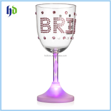 Hen Party Bride LED Light up Wine Glass Bachelorette Party Cup for the Bride to Be