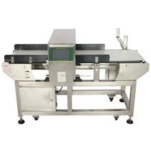 Stainless steel conveyor food metal detector