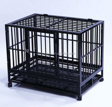 heavy steel dog cage