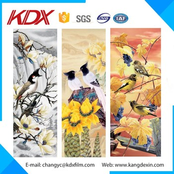 2016 High Quality of PP/PET Plastic Postcard 3D Lenticular Printing Product For Business Gift