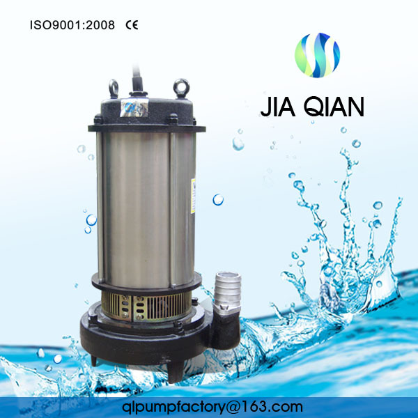 High Quality Standard CE submersible Water Pump